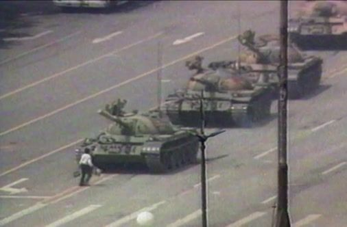 """26 Years Later, The Legacy Of The Tiananmen """"Tank Man"""" Endures"""