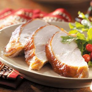 Apricot-Glazed Turkey Breast Recipe - This will be part of our meal on Thanksgiving this year.