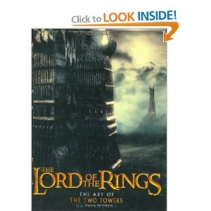 The Art of The Two Towers : Gary Russell FANTASY CONCEPT ART