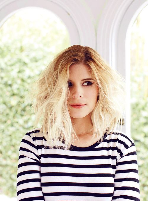 Kate Mara - Serendipity Magazine - March 2014 I looooove her hair