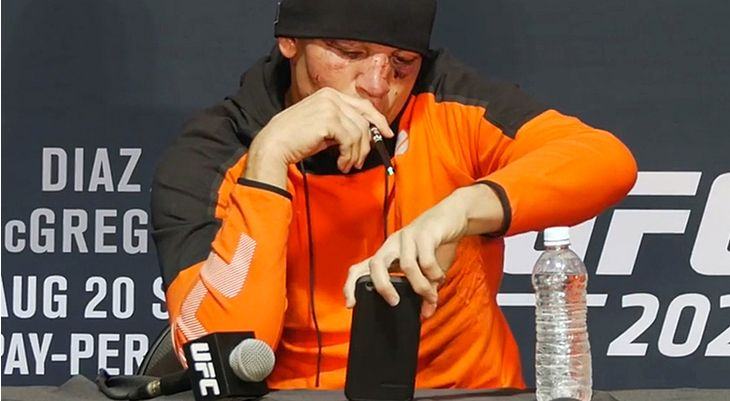 Nate Diaz's Post-Fight Vape Sesh and the MMA's Long History of Cannabis Use   Nate Diaz is among a long list of MMA fighters who take hits both in and out of the ring.