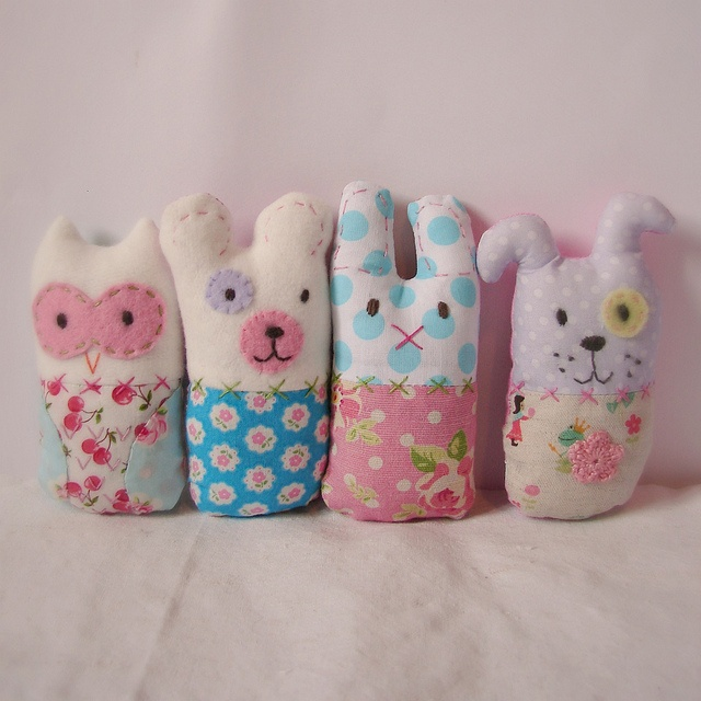 Lavender rattles for the girls by Roxy Creations, via Flickr