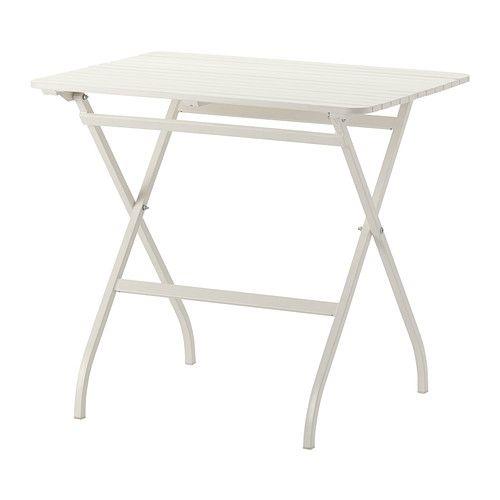 IKEA - MÄLARÖ, Table, extérieur, , Table pliante, idéale sur un balcon ou tout autre espace réduit.