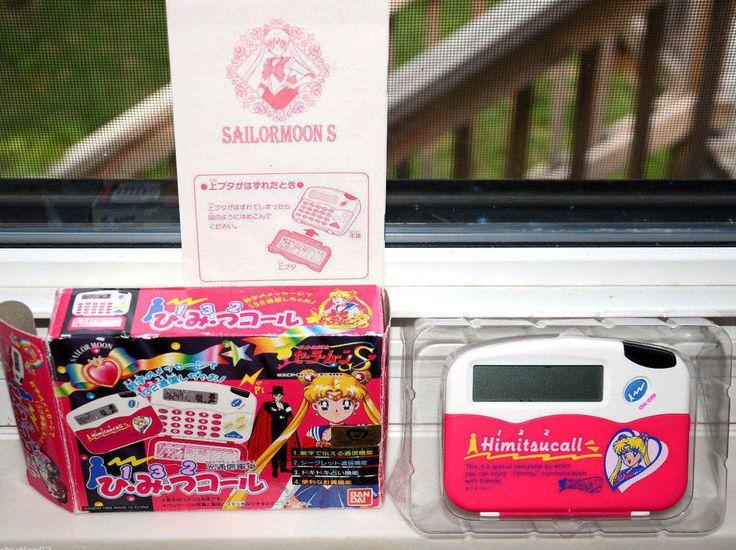 Sailor Moon calculator Himitsu Call Japanese Japan