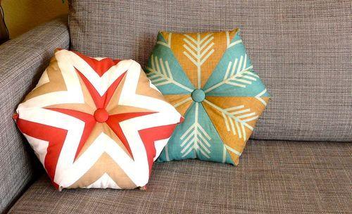 Fat Quarter Project: Kaleidoscope pillow