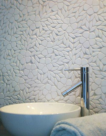 New Ravenna Mosaics - modern - kitchen tile - san diego - Cabochon Surfaces & Fixtures