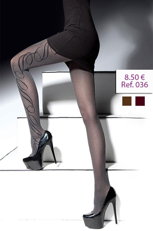 Panty Latoya 40 Den. Estilizan tus piernas con la sencillez de su estampado. http://www.fashionlegs.es/36-panty-latoya-40-den.html