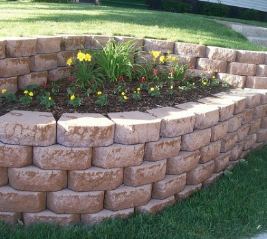 retaining wall ideas | Great Garden Retaining Wall Ideas to Try Outdoors