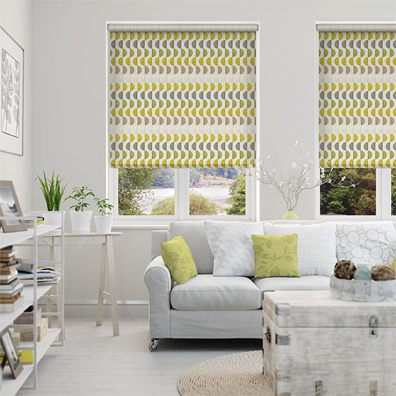 Choices Viva Funky Green Roller Blind. The 25  best Green roller blinds ideas on Pinterest   Roller