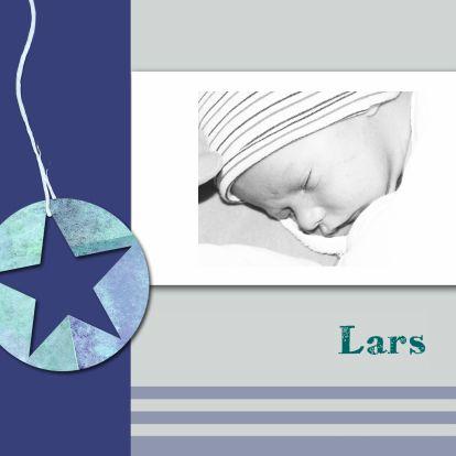 Stoere geboortekaart met foto - Geboortekaartjes - Kaartje2go