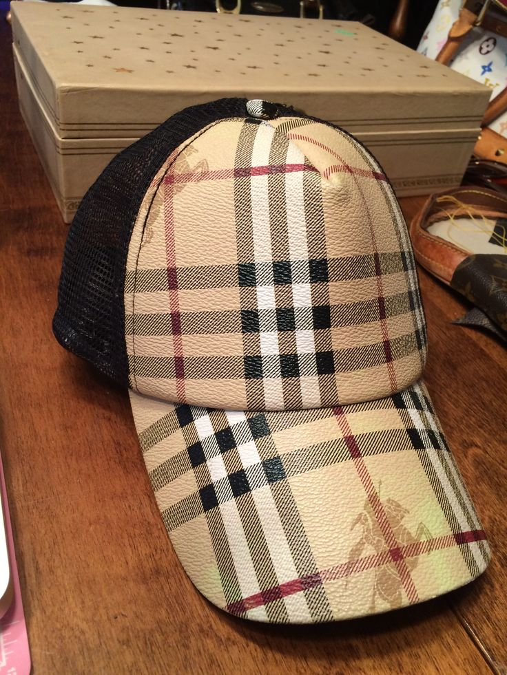 burberry baseball cap brush logos designer hats hat london