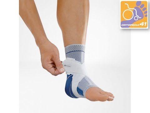 Tobillera MalleoTrain S ortopedia 41 Telf: 91377 16 25 www.ortopedia41.com Tras una operación, un esguince leve o como consecuencia de una sobrecarga repetida, el sistema de ligamentos del pie suele estar debilitado y necesita una mayor estabilización.  MalleoTrain S, es el vendaje activo con sistema de cintas ajustable, que aporta a la articulación del tobillo una sujeción fiable incluso en movimiento, protegiendo protegiendo el pie de torceduras.