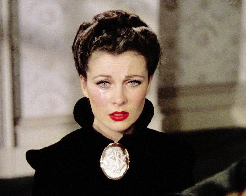 """vivien-leigh: """" """"Now, she had a fumbling knowledge that, had she ever understood Ashley, she would never have loved him; had she ever understood Rhett, she would never have lost him."""" """""""