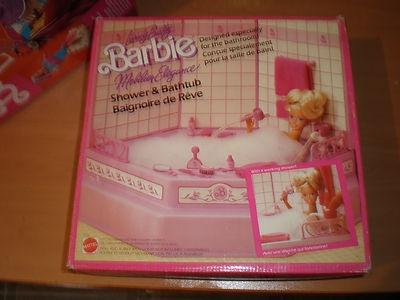 Vasca Da Bagno Barbie Anni 80 : Barbie altro che casa delle bambole