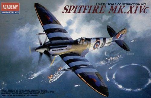 Supermarine Spitfire Mk.XIVC. Academy, 1/48, injection, No.12274. Price: 13,04 GBP.