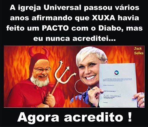 2012 e as Ylusões do [ ]: O Pacto da XUXA