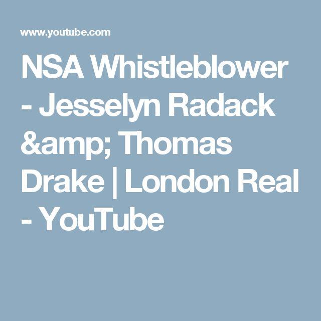 NSA Whistleblower - Jesselyn Radack  & Thomas Drake | London Real - YouTube
