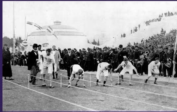 Athletics at the 1st Olympiad in 1896