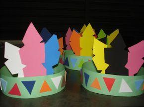 9 MODELOS DE COCAR DE ÍNDIO | Cantinho do Educador Infantil