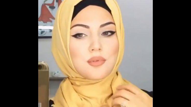 طرق لف الحجاب جديدة على الموضه ways to wear Hijab 2017