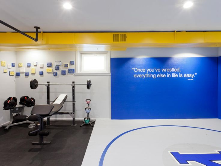 Image result for home wrestling rooms