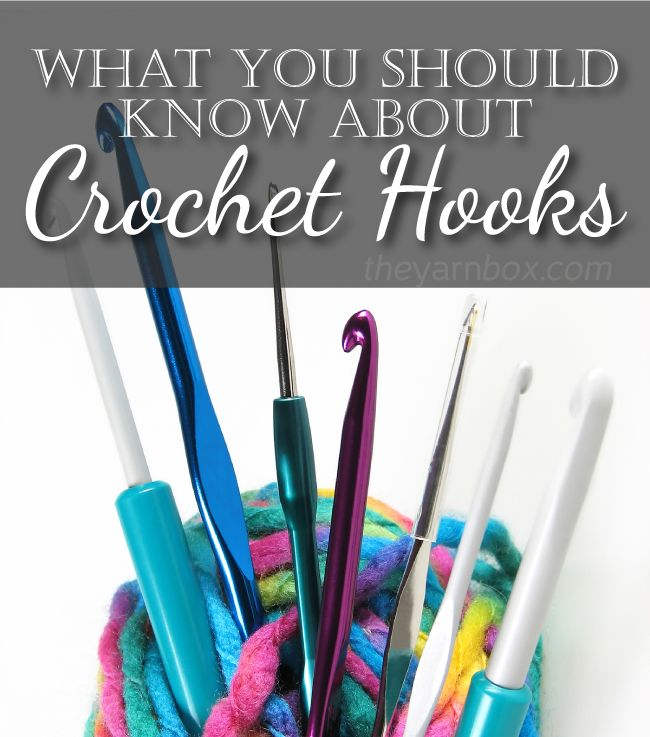 An interesting article about Crochet Hooks. Worth reading! I learned a lot I…
