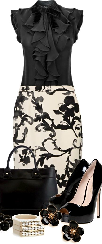 Moschino Cheap zipper skirt ● Kurt Geiger pumps