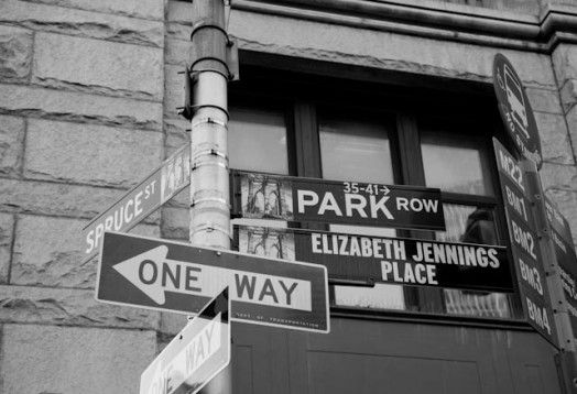 It took until 2007 for this sign to be put in place in Manhattan, but it honors the stand Elizabeth Jennings Graham took in 1854. Are you familiar with her story and the desegregation of buses in Manhattan in 1861?