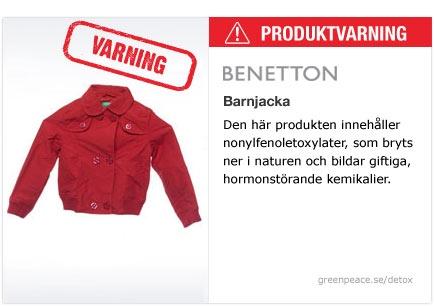 Benetton - Barnjacka