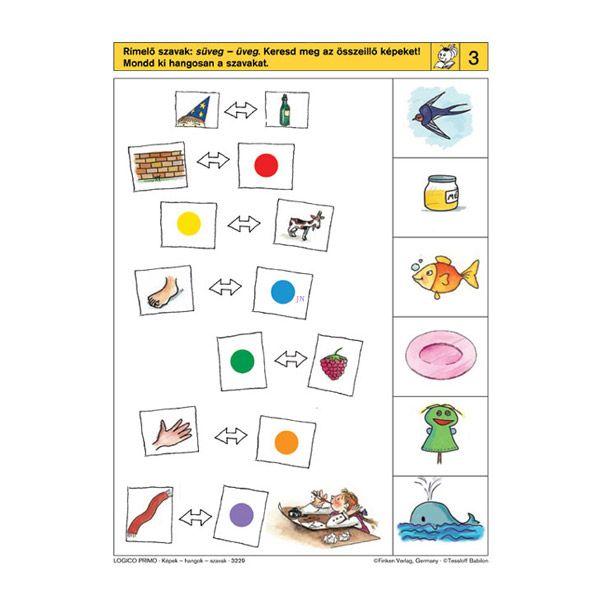 Logico Primo feladatkártyák - Képek, hangok, szavak - . kép