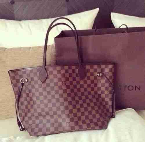 Brown/Beige Louis Vuitton Bags Outlet #Louis #Vuitton #Bags #Outlet