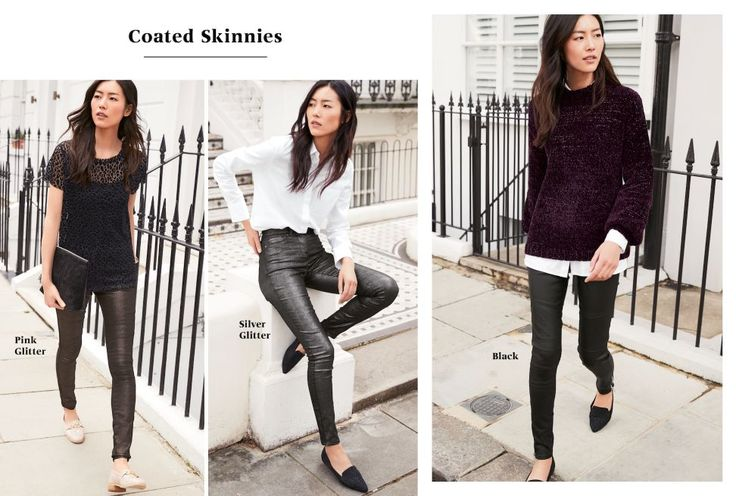 Coated Skinnies | The Jeans Collection | Womens Clothing | Next Malta - Page 1