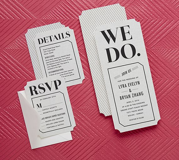 Wedding Paper Divas new stationery line | 100 Layer Cake
