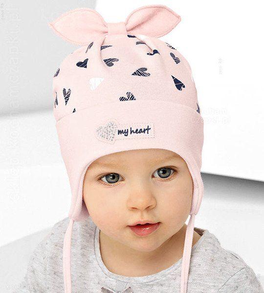 Czapka Wiosenna Czapka Wiosna Dzieci Kids Moda Kidsfashion Sklep Kocham Czapki Paloma Baby Face Baby