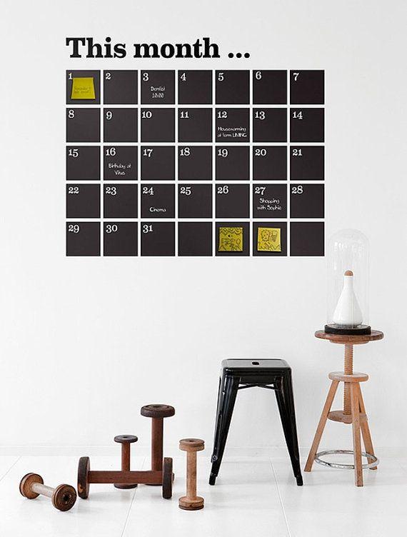 Removable Blackboard Wall Sticker