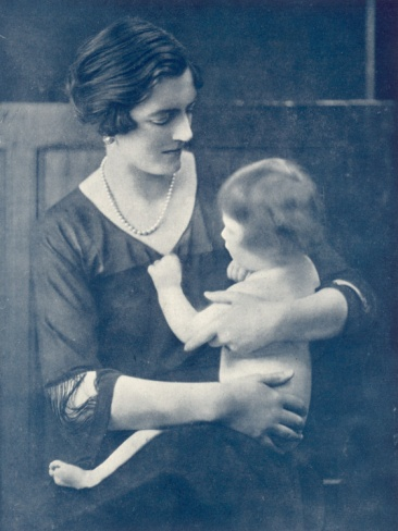 Clementine Churchill with daughter Marigold Google Image ...