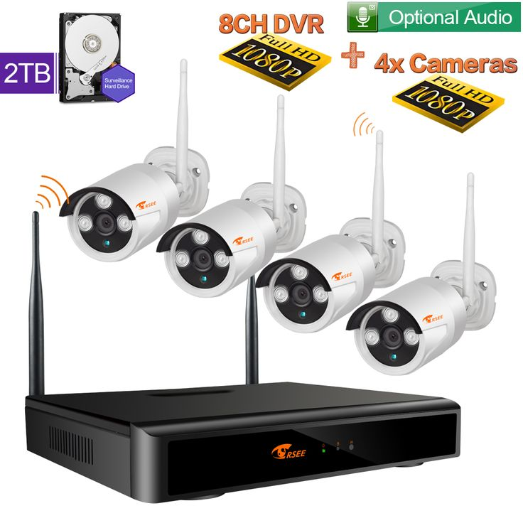 1080P wireless camera system,with 2TB hard drive. https://www.amazon.de/dp/B01LX9H638