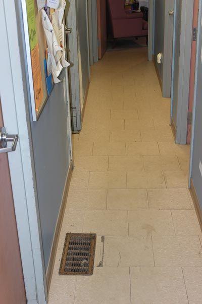 "2014 Shelter Hallway ""Before"""