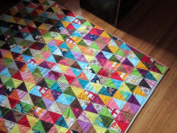 Triangle Quilt I love this