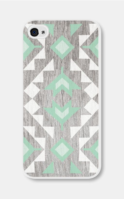 Mint Geometric Phone Case iPhone 4 / 4s or iPhone 5.. why can't they make this for the note!