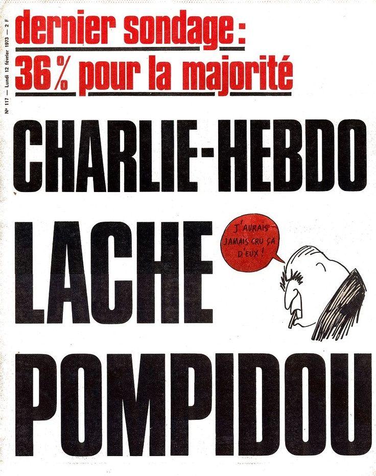 Charlie Hebdo - # 117 - 12 Février 1973 - Couverture : ?