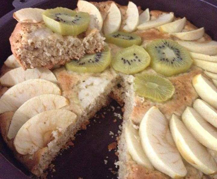 Receita Variante de Tarte de Maçã - SEM GLÚTEN, SEM LATICÍNIOS por sabbag - Categoria da receita Bolos e Biscoitos