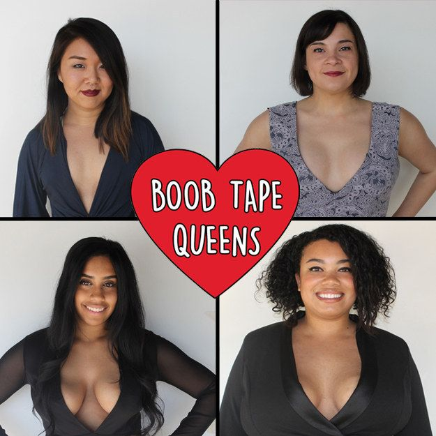 All in all, we learned that while gaffer's tape does provide some lift, it REALLY hurts! So you're probably better off not trying this at home. Your skin and boobs will thank you later. | We Found Out Whether Kim Kardashian's Tape Trick Actually Works
