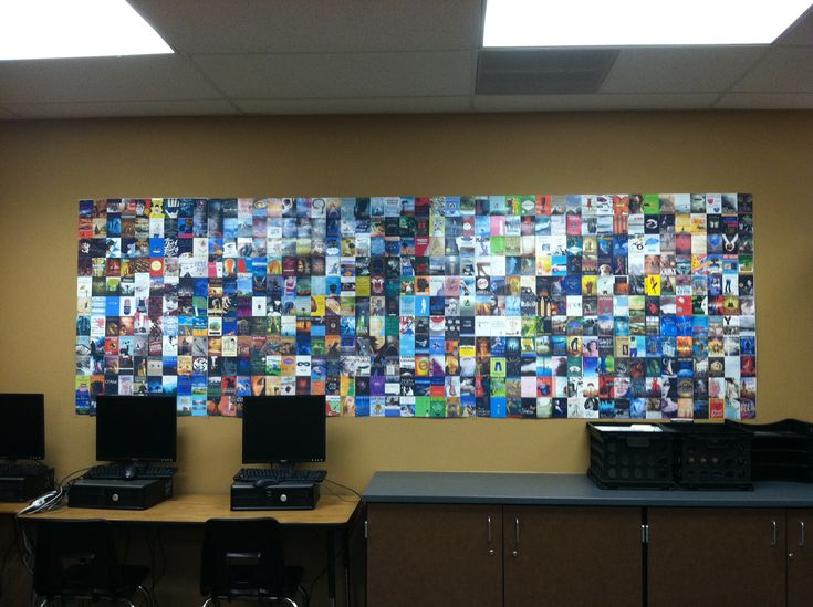 Classroom, Classroom Decor, Book Wall, Collage Wall, Schools Classroom ...