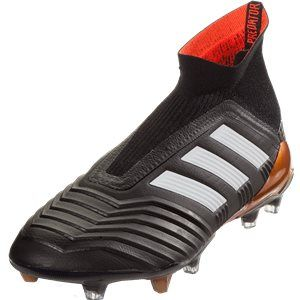6dbfd4a7a adidas Predator 18+ FG Soccer Cleat - Black/White/Solar Red | shoe ...