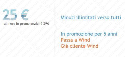 Wind - nuova opzione 'Noi Tutti Unlimited Special Edition'