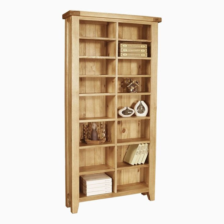 Merveilleux Elegance Solid Oak Cd/Dvd Storage Unit (Sizes Medium/Large)