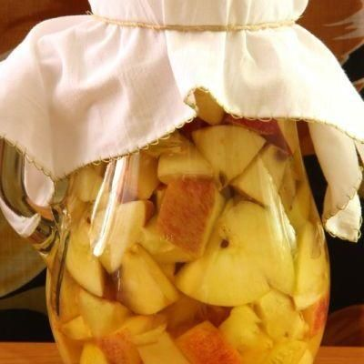 Oțet de mere de casă