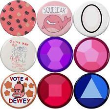 "Steven Universe Inspired 2.25"" Pinback Buttons (Pick Your Own 4 Pack)"
