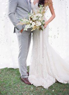 Styled to perfection: http://www.stylemepretty.com/2015/06/18/elegant-mexico-wedding-inspiration/ | Photography: Jose Villa - http://josevilla.com/